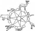 Ojibwe Clans Book Project : Intersecting Ojibwe art curriculum